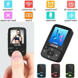 Mini 8GB BT MP3 4 Player HiFi Lossless Music FM Radio TF Ped