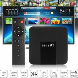 TX3 Mini Android 7.1 4K HDMI HD TV Box S905W 2GB 16GB 2.4GHz