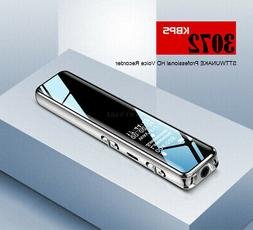Mini Digital Voice Recorder 16GB Audio Pen Dictaphone Sound