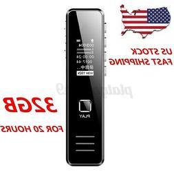 Mini Digital Voice Recorder Audio Sound Dictaphone OLED Scre