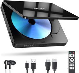 Mini HD DVD Player for TV Region Free Portable DVD/CD Player
