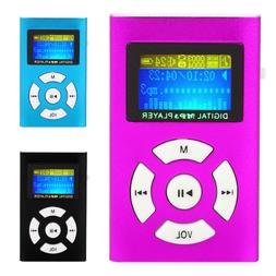 Mini iPod Style USB MP3 Player FM Radio Player With LCD Scre