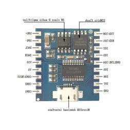 Mini MP3 Player IO Trigger USB Download Flash Voice Module D