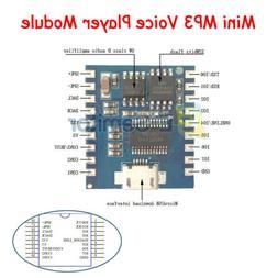 Mini MP3 Player Voice Module USB Download Flash Audio Module