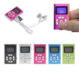 Mini Portable USB LCD Screen Support Micro SD TF Card 32GB D