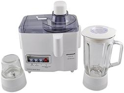 Panasonic MJ-M176P 3-in-1 Juicer/Blender/Grinder Machine, 22