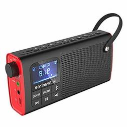 MP3 & MP4 Player Accessories 3-in-1 Portable FM Radio With W