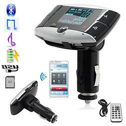 MP3 Kit Car Wireless Bluetooth Player FM Radio Transmitter H