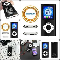 MP3/MP4 Player W/ Accessories 64 Gb Support 40 Hours Battery