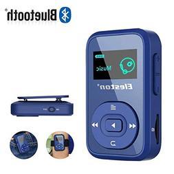Eleston MP3 Music Player,8GB Clip Bluetooth Digital Music Pl