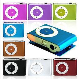 MP3 Music Player Mini Clip Support 32GB Micro SD TF