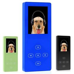 FecPecu MP3 Player, Music Player 8GB Touch Button Portable M