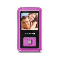 1.5-Inch 8GB MP3 Video Player with FM Tuner, Pink