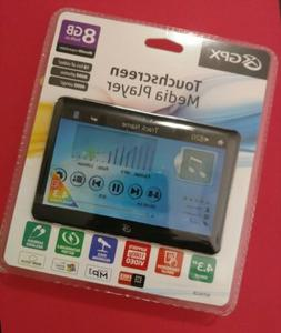 GPX MP3 Player 8GB 4.3 Touchscreen Media Player New In Packa