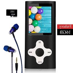 Mp3 player, Frehoy Portable MP3 Player, Music Player/Voice R