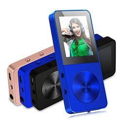MP3 Player, FecPecu Music Players Updated Version 8GB Hi-Fi