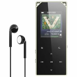 mp3 player bluetooth fm radio 16gb metal