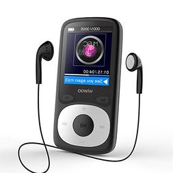 16GB MP3 Player with FM Radio, Lossless Sound Music Player w