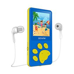 Aniee MP3 Player for Kids 8GB Lightweight Music Player with