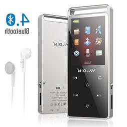 MP3 Player Portable Digital Bluetooth Metal 50 Hour Playback