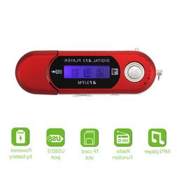MP3 Player Touch Screen Music Player FM Radio Running Suppor