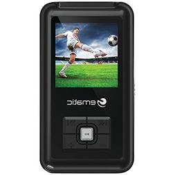 MP3 Player, Ematic 8GB Black MP3 Video Player with 1.5 inch