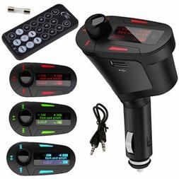 mp3 player wireless fm transmitter modulator car