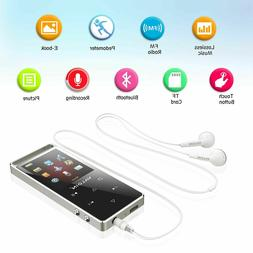 MP3 Player with Bluetooth 4.0, Valoin 8GB Metal Shell Lossle