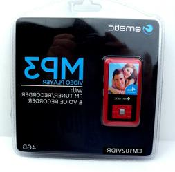 ematic MP3 Video Player with FM Tuner/Recorder Voice Recorde