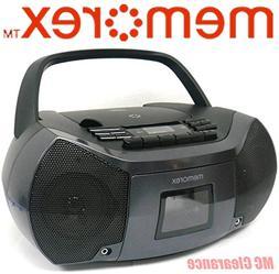 Memorex MP3261 FlexBeats MixBox with CD/Cassette and AM/FM B