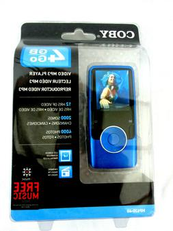 Coby MP620 Blue  Digital Media Player