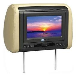"Audiovox MTGHRD1 Headrest 7"" Monitor w/DVD/HDMI Output & 3 V"