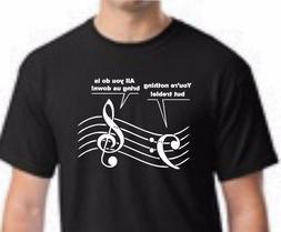 Music Lover Shirt, Treble Tshirt, Bass Player T-shirt, Trebl