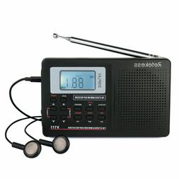 MW/ FM/ SW Portable Stereo DSP Radio Full Band World Receive