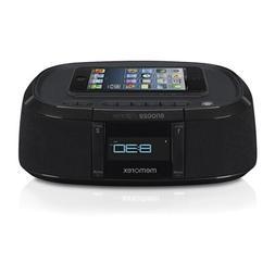 Memorex MW453 Bluetooth Wireless Alarm Clock FM Radio w/ Uni