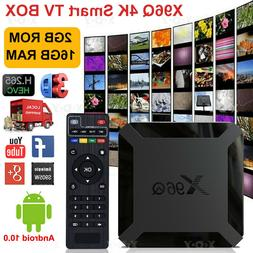 MX10 PRO Android 8.1 Oreo Smart TV BOX 2+16G Quad Core 4K Fi