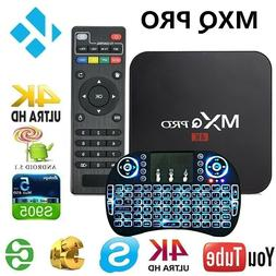MXQ Pro 4K Android 7.1 TV Box S905W Quad Core WiFi HD  Media