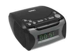 Naxa Digital Alarm Clock with Digital Tuning AM/FM Radio& CD