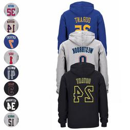 NBA Adidas Player Name & Number Jersey Pullover Fleece Hoodi