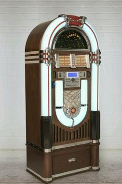 New 1950's old style Crosley jukebox LED