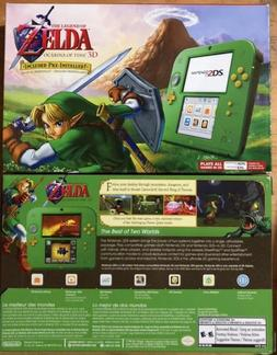 New Nintendo 2DS  CONSOLE Link Edition & The Legend of Zelda