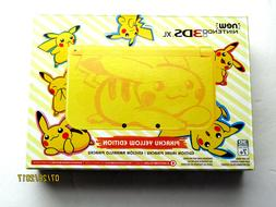 New Nintendo 3ds XL System Yellow Pikachu Edition Handheld C