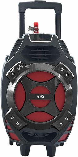 "New QFX Bluetooth Portable Party Speaker 8"" Woofer Amplifier"
