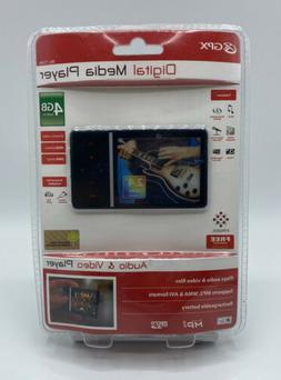 NEW GPX Digital Media Player ML759B 4GB Audio & Video Player