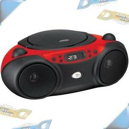 NEW GPX FM Radio CD Player Portable Stereo Boombox