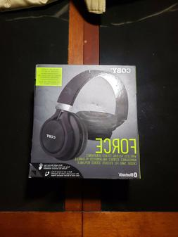 83fec574510 NEW Coby Force Folding Bluetooth Headphones with Built-In Mi