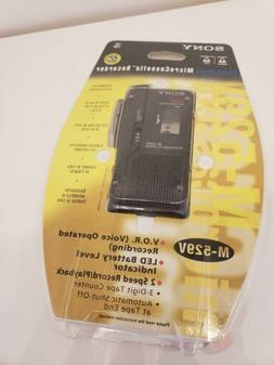 NEW Sony Handheld VOR Voice Operated Microcassette-Corder Re