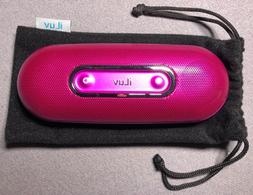 COMPLETE MINT w// AUX IN MP3 PLAYER ILUV PORTABLE SPEAKER for IPOD i189BLK-01