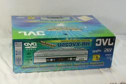 New JVC HR-XVC25U DVD Player & VCR VHS Recorder Combo Dubbin
