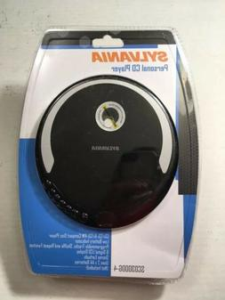 NEW In Box Sylvania Personal CD Player w/  Earbuds SCD300DG-